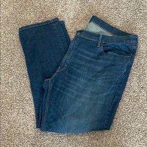 Levi's 541 Athletic Stretch Men's Dark Jeans Sz 46